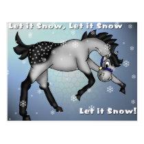Let it Snow, Let it Snow, Let it Snow Postcard