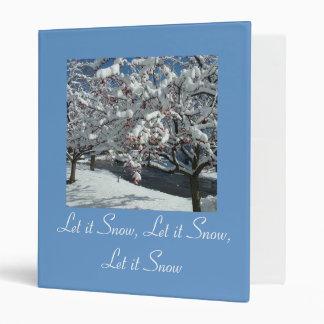 Let it Snow, Let it Snow, Let Snot Binder