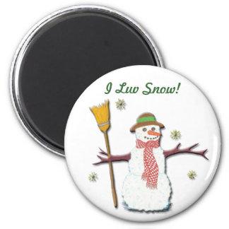 Let It Snow! Magnet