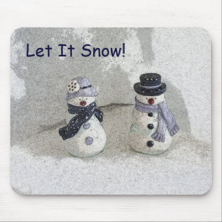 Let It Snow! Mouse Pad