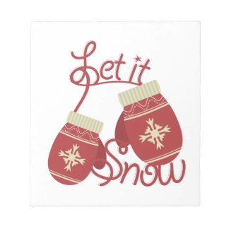 Let It Snow Notepad