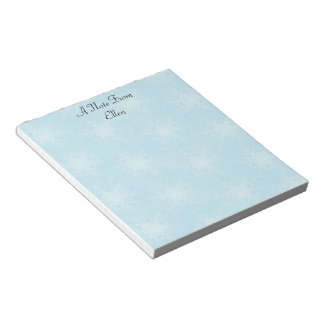 Let it Snow! Notepad