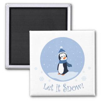 Let It Snow! (Penguin) Magnet