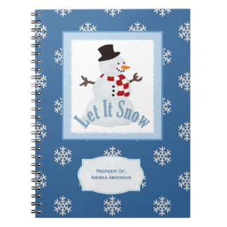 Let It Snow: Personalized Notebook
