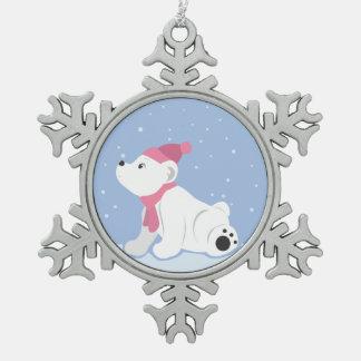 Let It Snow! (Polar Bear Cub) Ornaments