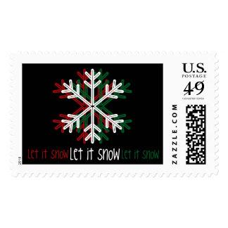 Let it Snow. Postage