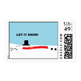 """Let it Snow""  Postage"