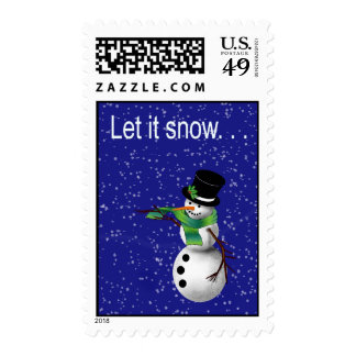 Let it Snow Stamp