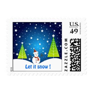 Let it snow ! - Postage