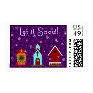 Let it Snow! Postage