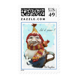 Let it snow! Postage Stamp
