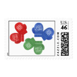 Let it Snow Postage Stamps