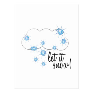 Let It Snow! Post Cards