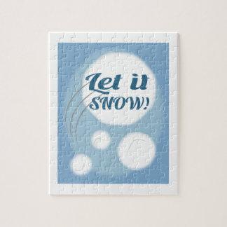 Let it Snow Puzzles