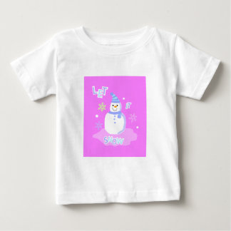 let it snow screen t-shirts