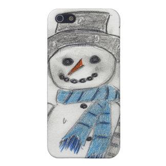 Let It Snow Snowman Case For iPhone SE/5/5s
