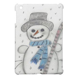 Let It Snow Snowman iPad Mini Case