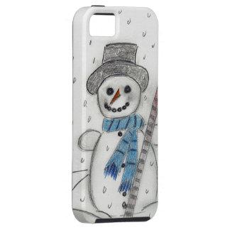 Let It Snow Snowman iPhone SE/5/5s Case