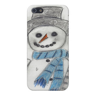 Let It Snow Snowman iPhone SE/5/5s Cover
