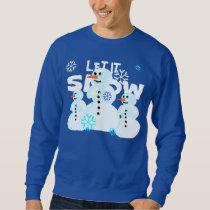 Let It Snow Snowman Sweater