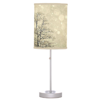 Let It Snow Table Lamp