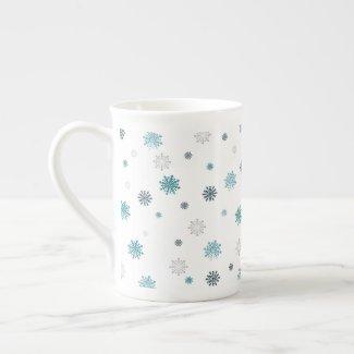 Let It Snow Tea Cup