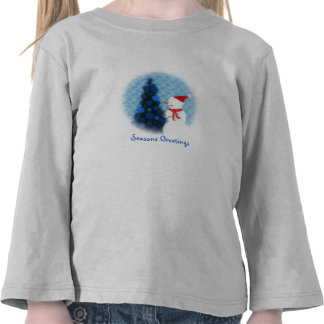 Let it Snow Toddler Long Sleeve T-shirt