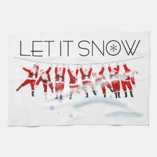 Let it Snow Towels