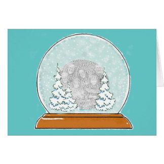 LET IT SNOW!!!!! Zazzle template contest Card