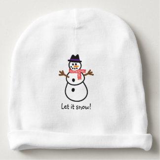 Let it Snowman! Baby Beanie