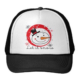 Let It Snowman Trucker Hat