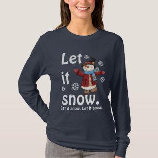 Let It SnowmanTee T-Shirt