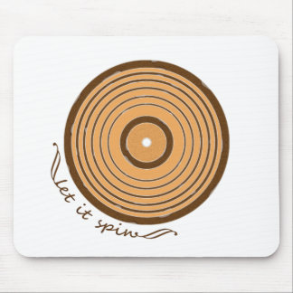 Let It Spin Mouse Pad