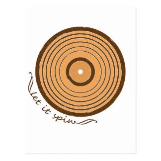 Let It Spin Postcard