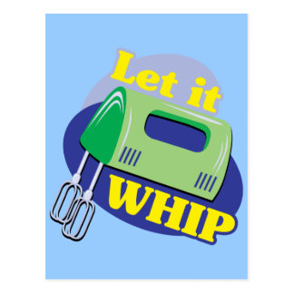 Let It Whip Postcard