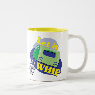 Let It Whip Two-Tone Coffee Mug