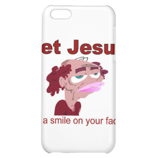 Let Jesus put a smile on your face iPhone 5C Cover