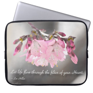 Let life flow through the filter of Laptop Sleeve