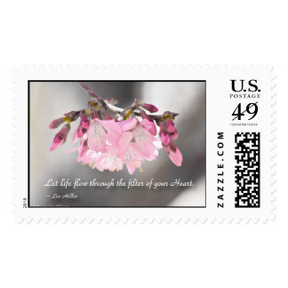 Let life flow through the filter of... USPS Stamp