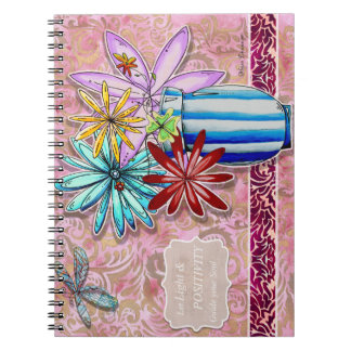 Let Light & Positvity Guide Your Soul Notebook