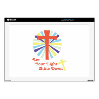 Let Light Shine Decals For Laptops