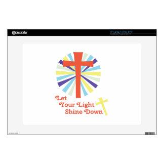 Let Light Shine Skin For Laptop