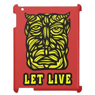 """""""Let Live"""" 631 Art iPad Case"""