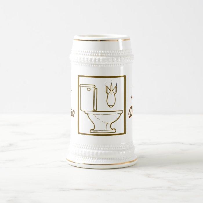 Let Loose The Deuce Beer Stein