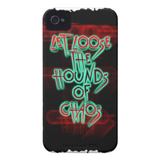 Let loose the hounds of chaos iPhone 4 cover