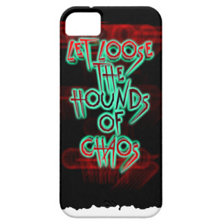 Let loose the hounds of chaos iPhone SE/5/5s case
