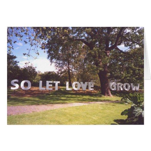 Let Love Card