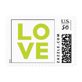 Let Love Grow Postage