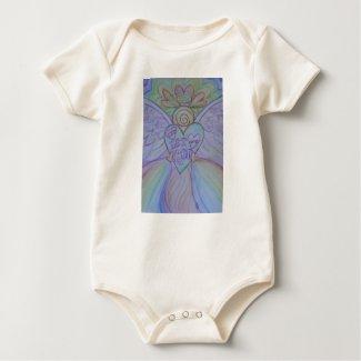 Let Love, Let God Guardian Angel Custom Shirts