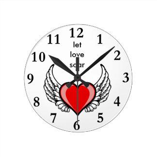 let love soar round clock